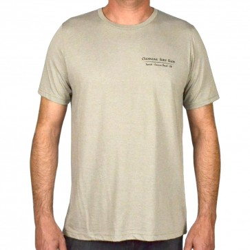 Cleanline Salmon T-Shirt - Heather Stone