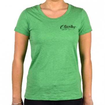 Cleanline Women's Eagle Scoop Top - Green