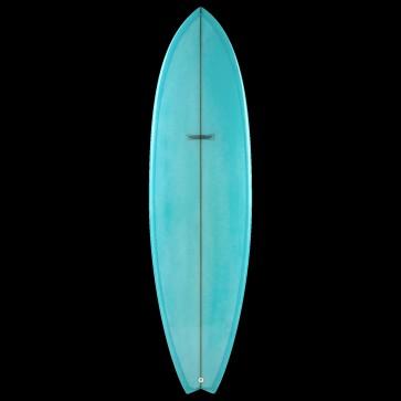 Global Surf Industries - 6'8'' Modern Blackfish Surfboard - Blue