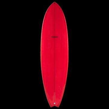 Global Surf Industries - 7'4'' Modern Blackfish Surfboard - Red