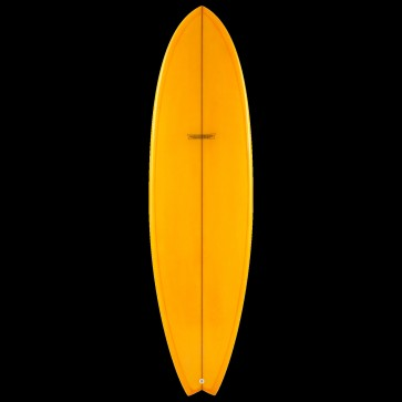 Global Surf Industries - 6'8'' Modern Blackfish Surfboard - Tangerine
