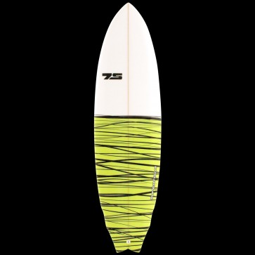Global Surf Industries - 6'8'' 7S Superfish II PE Surfboard - Lime