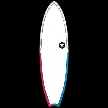 "Global Surf Industries Surfboards - 6'9"" 7S Super Fish 3 CV Surfboard"