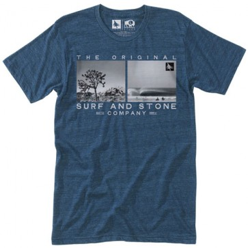 HippyTree Territory T-Shirt - Heather Navy