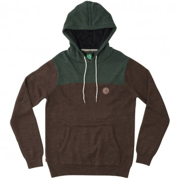 HippyTree Huntsville Hooded Sweater - Brown