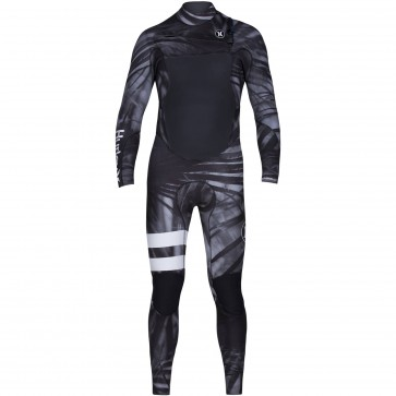 Hurley Fusion 3/2 Wetsuit - Black/White