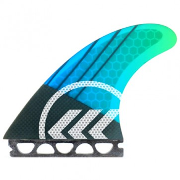 Kinetik Racing Fins Parko Phase 4 M/L Futures - Blue/Green