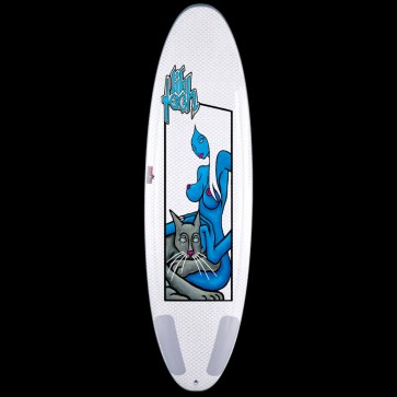 "Lib Tech Surfboard - 6'6"" Extension Ramp Surfboard - Blue Girl"