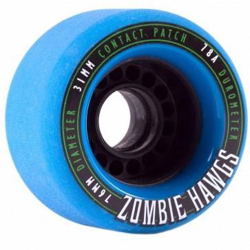 Landyachtz - 76mm Zombie Hawgs Wheels - Blue