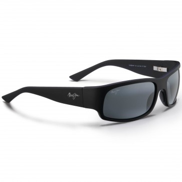 Maui Jim Longboard Sunglasses - Matte Black Rubber/Neutral Grey