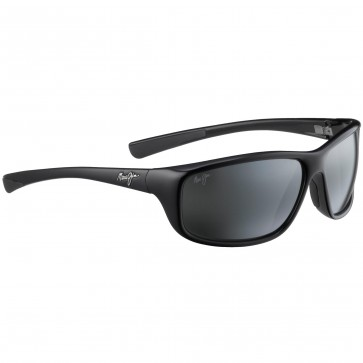 Maui Jim Spartan Reef Sunglasses - Gloss Black/Neutral Grey