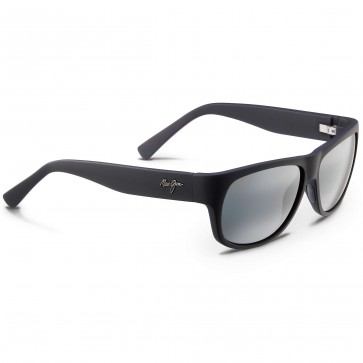 Maui Jim Makawao Sunglasses - Matte Black Rubber/Neutral Grey