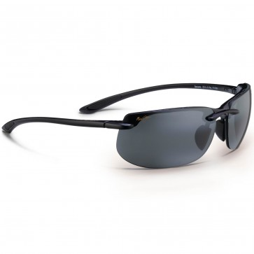 Maui Jim Banyans Sunglasses - Gloss Black/Neutral Grey