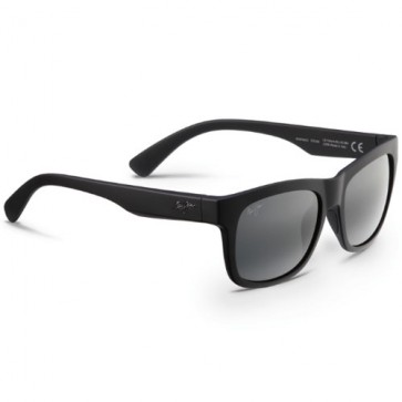 Maui Jim Snapback Sunglasses - Matte Black/Neutral Grey