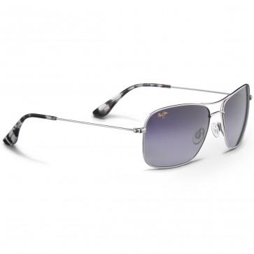 Maui Jim Wiki Wiki Sunglasses - Silver/Neutral Grey