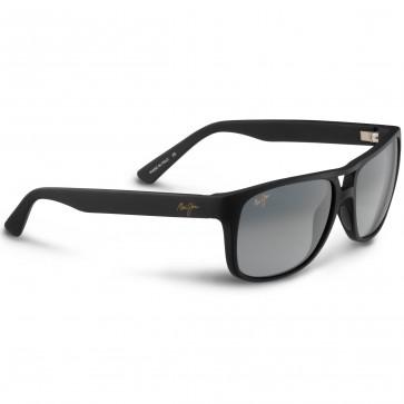 Maui Jim Waterways Sunglasses - Matte Black Rubber/Neutral Grey