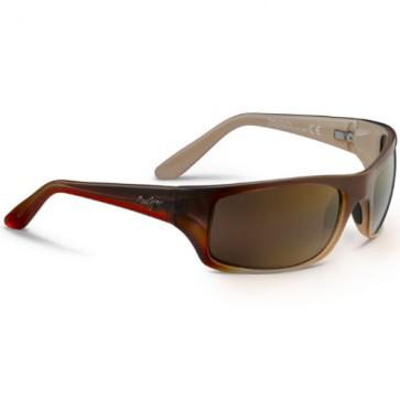 Maui Jim Peahi Sunglasses - Redfish/HCL Bronze