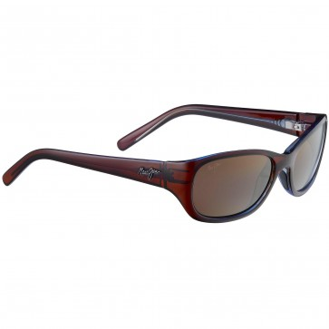 Maui Jim Women's Kuiaha Bay Sunglasses - Rootbeer Blue/HCL Bronze