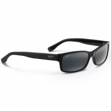 Maui Jim Hidden Pinnacle Sunglasses - Gloss Black/Neutral Grey