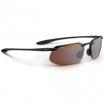 Maui Jim Kanaha Sunglasses - Gloss Black/HCL Bronze