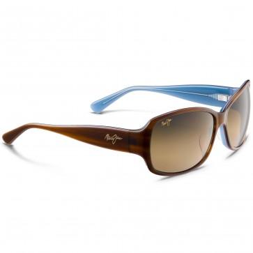 Maui Jim Women's Nalani Sunglasses - Tortoise with White and Blue/HCL Bronze