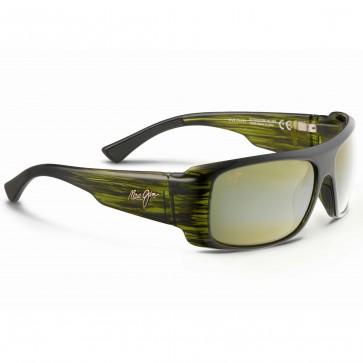 Maui Jim Five Caves Sunglasses - Olive Stripe/Maui HT