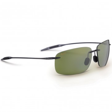 Maui Jim Breakwall Sunglasses - Smoke Grey/Maui HT
