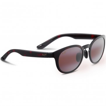 Maui Jim Women's Keanae Sunglasses - Red/Black Tortoise/Maui Rose