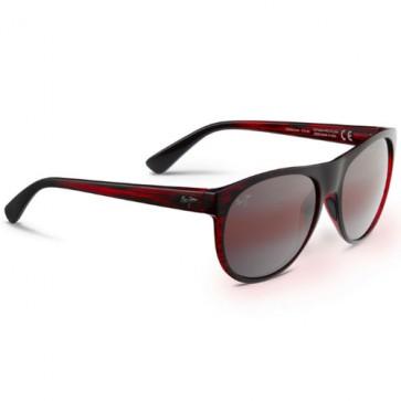 Maui Jim Rising Sun Sunglasses - Burgundy Stripe/Maui Rose