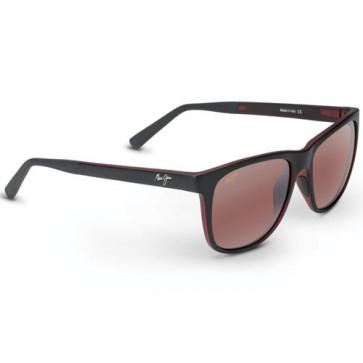 Maui Jim Tail Slide Sunglasses - Matte Black/Red/Maui Rose