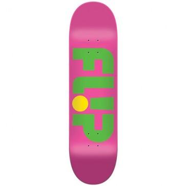 Flip Skateboards Odyssey Logo Deck - Pink