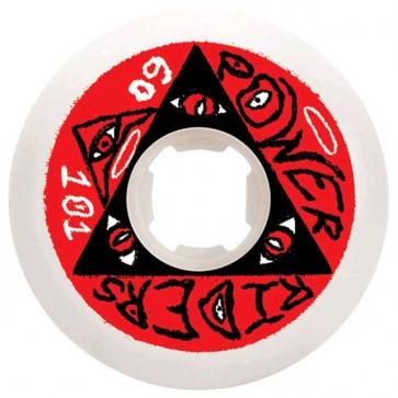 OJ Wheels - 60mm OJ Power Rider Wheels - White