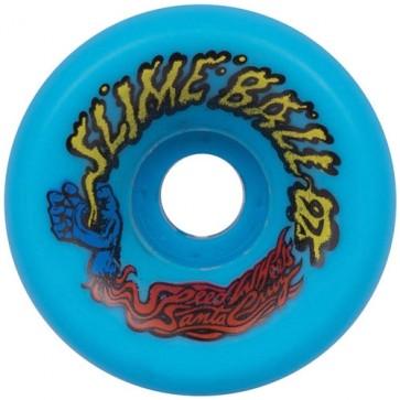 Santa Cruz 60mm Vomits Wheels - Neon Blue
