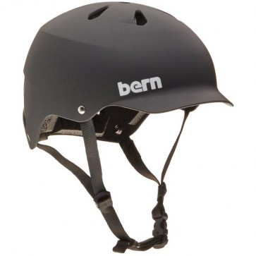 Bern Watts Hard Hat - Matte Black