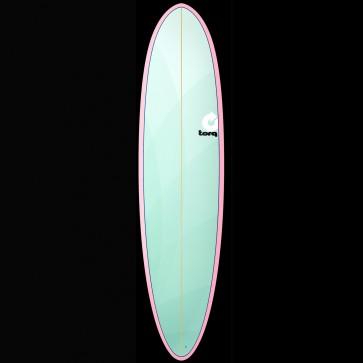 Torq Surfboards 7'6'' Torq Mod Funboard - Mint/Pink