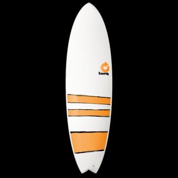 Torq Surfboards - 6'6'' Torq Mod Fish - Orange Bands