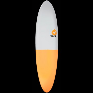 Torq Surfboards 7'2'' Torq Mod Funboard - Grey/Orange