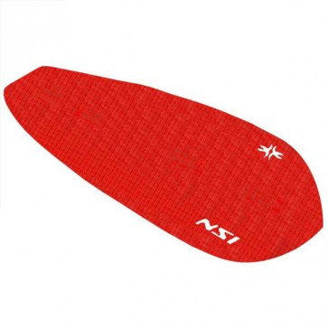 North Shore Inc Full Monty Surf Pad with Inserts - Red