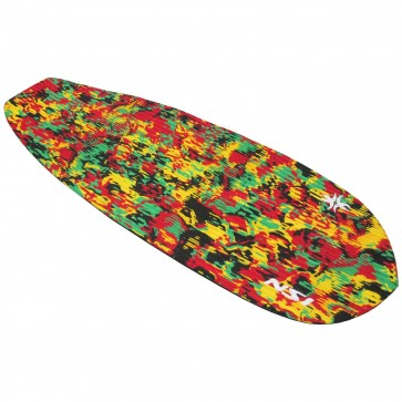 North Shore Inc Full Monty Surf Pad - Rasta