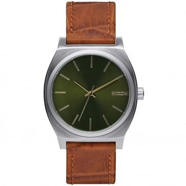 Nixon Time Teller Watch - Saddle Gator