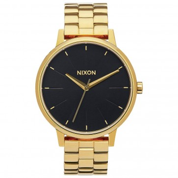 Nixon Kensington Watch - All Gold/Black Sunray