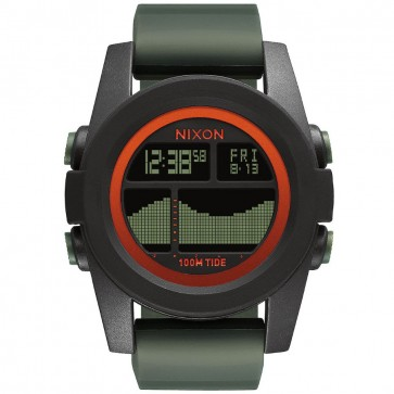Nixon Unit Tide Watch - Black/Surplus/Orange