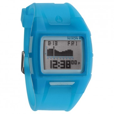 Nixon Lodown II Watch - Translucent Blue