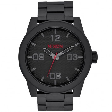 Nixon Corporal SS Watch - All Black/Stamped