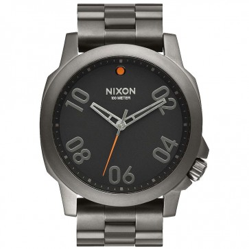 Nixon Ranger Watch - Gunmetal/Black