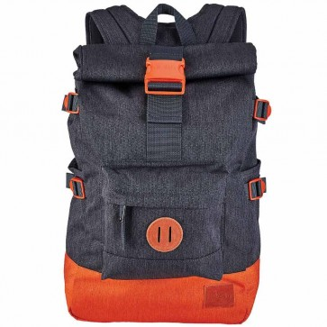 Nixon Swamis Backpack - Dark Gray/Orange