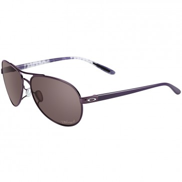 Oakley Women's Feedback Polarized Sunglasses - Blackberry/OO Grey