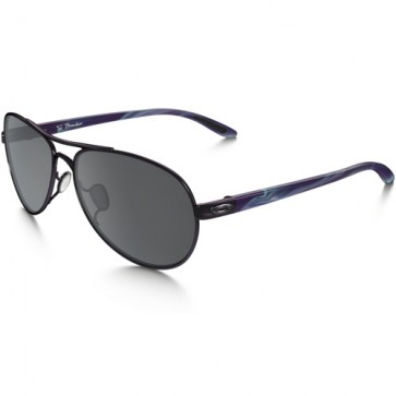 Oakley Women's Tie Breaker Sunglasses - Blackberry/Black Iridium