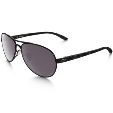 Oakley Women's Tie Breaker Polarized Sunglasses - Polished Black/Prizm Daily