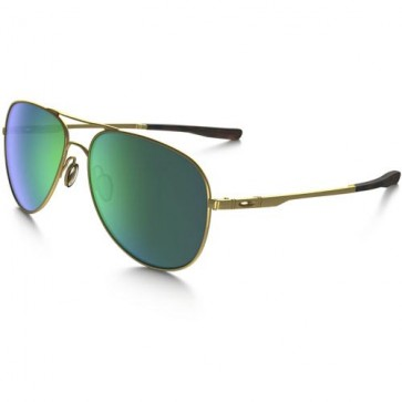Oakley Elmont Sunglasses - Matte Gold/Jade Iridium
